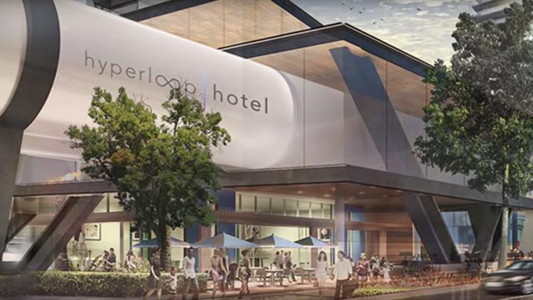 Hyperloop Hotel: ¿El futuro de los viajes de lujo?
