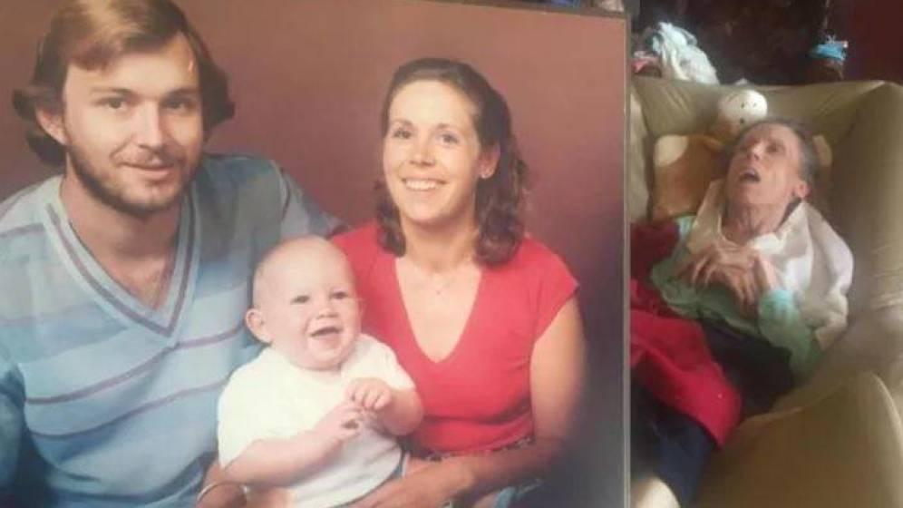 Foto: Retrato de la familia Heath. (Facebook)