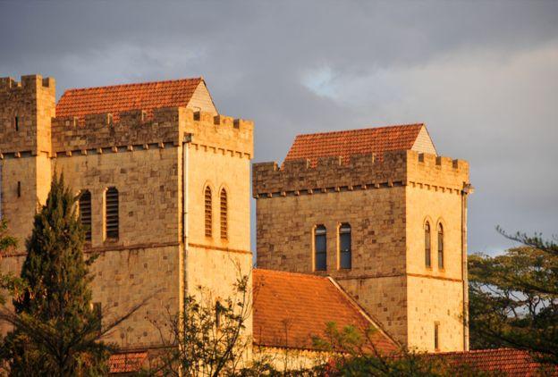 La catedral de Todos Los Santos de Nairobi.