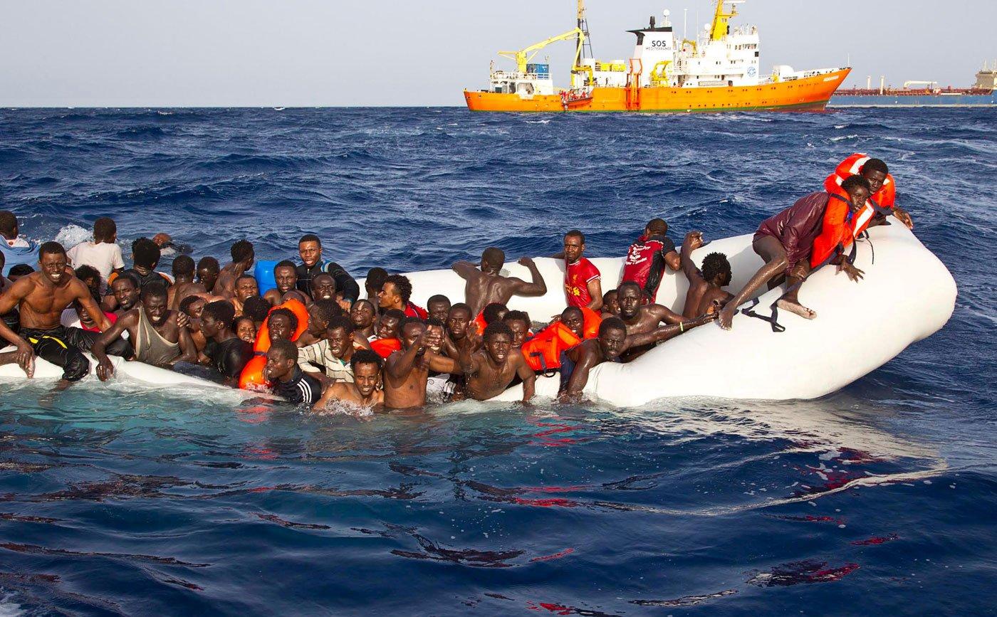 Naufragio en el Mediterráneo / Reuters