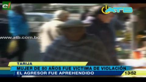 Anciana de 80 años fue víctima de violación en Yacuiba