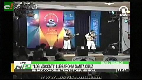Los Visconti darán un concierto inolvidable en Santa Cruz