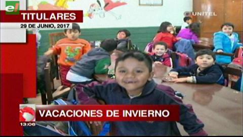 Video titulares de noticias de TV – Bolivia, mediodía del jueves 29 de junio de 2017