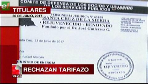 Video titulares de noticias de TV – Bolivia, mediodía del viernes 30 de junio de 2017