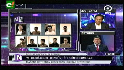 Evo no recibirá en frontera a los 9 bolivianos expulsados de Chile