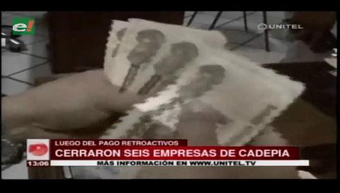 Tras cumplir con el pago de retroactivos cierran seis empresas de Cadepia en Cochabamba