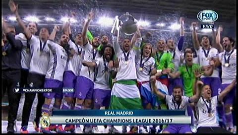 El Real Madrid levanta su Champions número 12