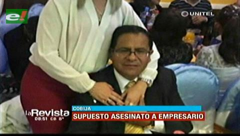 Asesinan a un empresario en Cobija