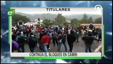 Video titulares de noticias de TV – Bolivia, noche del miércoles 7 de junio de 2017