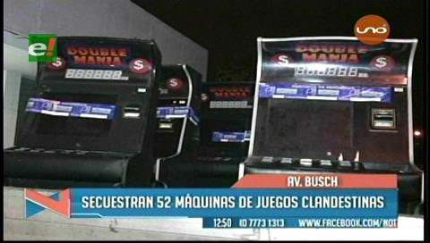 Santa Cruz: Allanan galpones y salas de juegos clandestinos