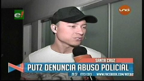 Sebastián Putz es detenido por trotar sin polera