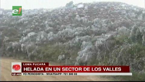 Mal tiempo provoca helada y destrozos en provincias cruceñas