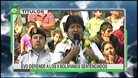 Video titulares de noticias de TV – Bolivia, mediodía del jueves 22 de junio de 2017