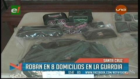 La Guardia: Roban en ocho domicilios en el barrio Cumbre de Las Américas