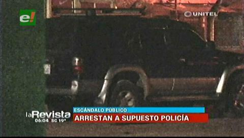 Agredió a una mujer: Detienen a supuesto policía en estado de ebriedad