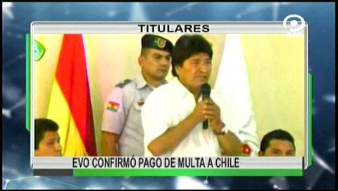 Video titulares de noticias de TV – Bolivia, noche del viernes 23 de junio de 2017