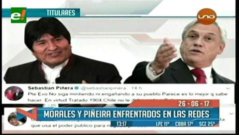 Video titulares de noticias de TV – Bolivia, mediodía del lunes 26 de junio de 2017