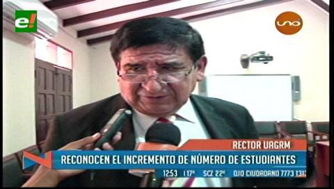 """Rector Rosas: """"El ICU define la carga horaria"""""""