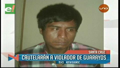 Presunto violador fue capturado en Guarayos