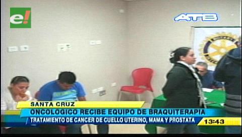 Hospital Oncológico recibe ambiente acondicionado para Braquiterapia
