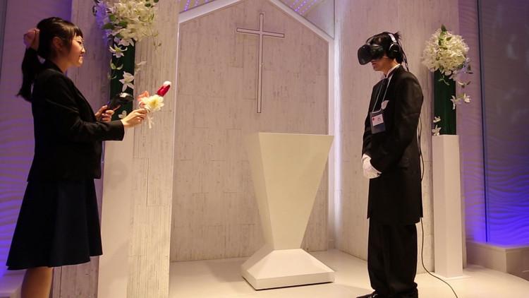 Boda vista y no vista: Los japoneses ya se casan con novias virtuales (VIDEO)