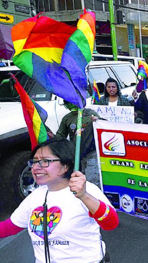 Diversidades sexuales desfilan hoy contra intolerancia y odio