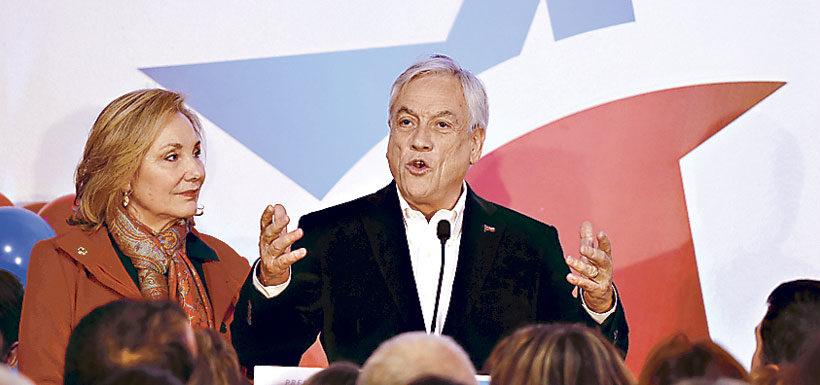Adimark: Piñera alcanza su mejor registro y Beatriz Sánchez queda a dos puntos de Guillier