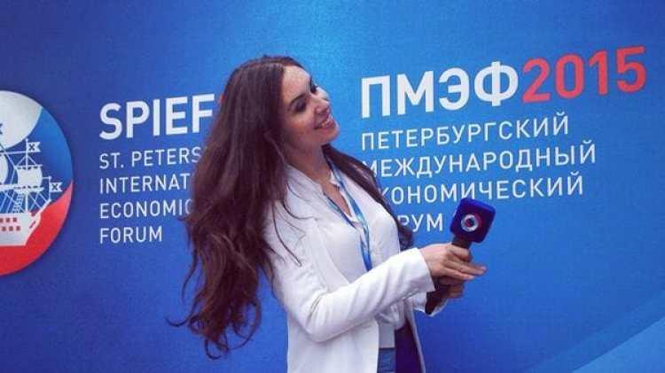 Nadolskaya trabajó también en la televisión estatal rusa