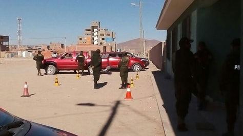 Carabineros de Chile fueron trasladados a la localidad de Uyuni
