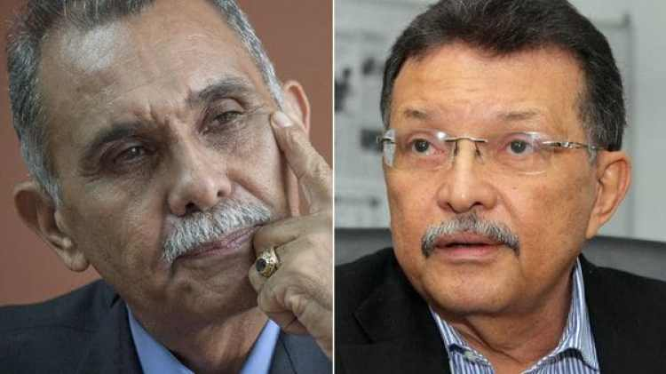 Eustoquio Contreras y Germán Ferrer