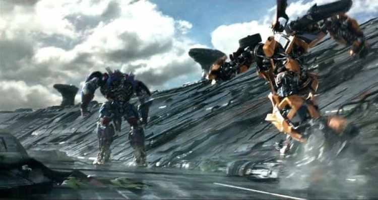 """""""Transformers: The Last Knight"""" se hizo con la quinta plaza gracias a sus USD 6,3 millones"""