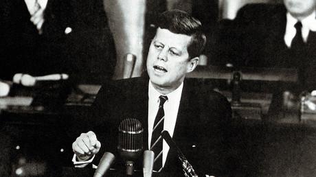 John Fitzgerald Kennedy, el trigésimo quinto presidente de los Estados Unidos