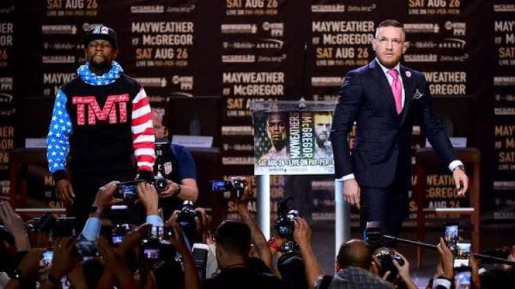 Mayweather y McGregor se enfrentarán el 26 de agosto (Getty Images)
