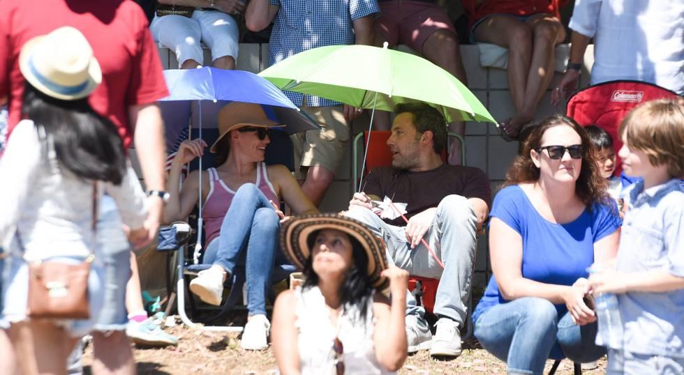Jennifer Garner y su exmarido, Ben Affleck, pasaron juntos y con sus tres hijos la pasada fiesta del 4 de julio.
