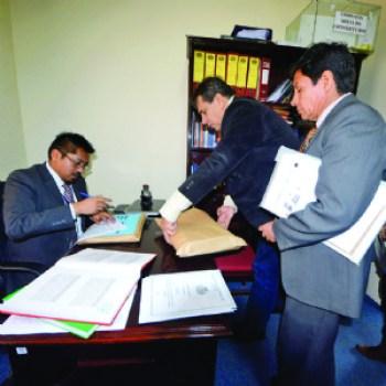 Judiciales: hay tres inscritos a siete días de cerrar el registro