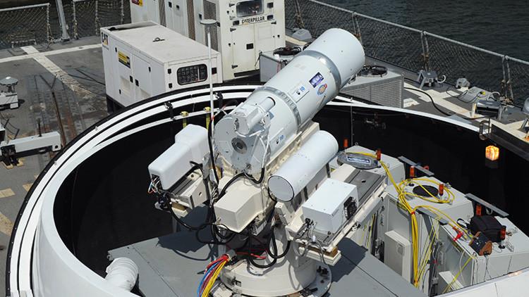 Los cañones láser son vulnerables a las interferencias de radio convencionales