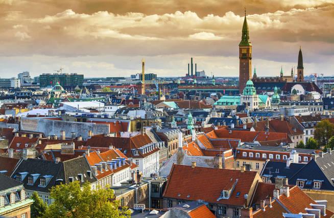 Skyline de Copenhague. (iStock)