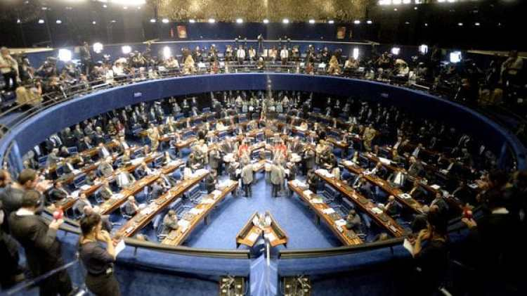 El Senado de Brasil aprobó la reforma laboral el 11 de julio (EFE)