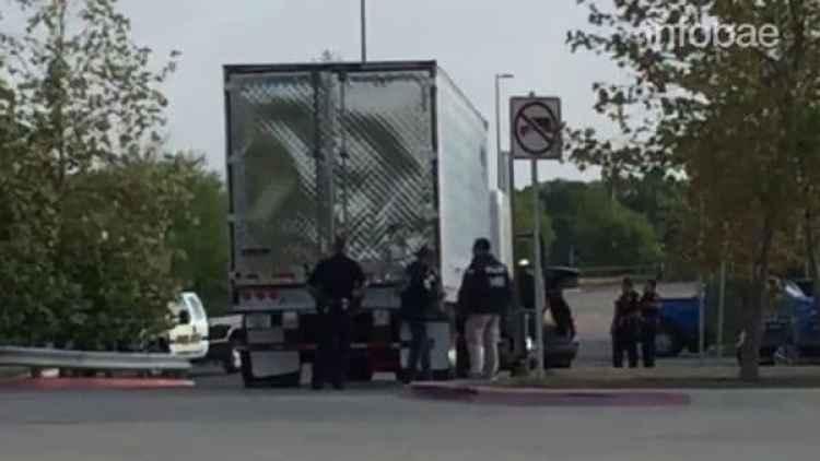Diez personas murieron por falta de ventilación en el interior del camión