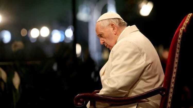 El papa Francisco recordó al bebé británico Charlie Gard (Getty)