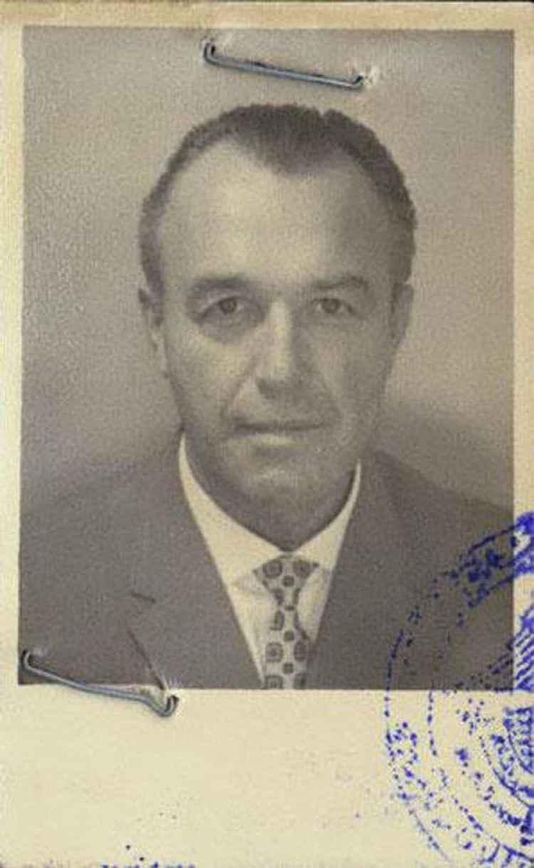 La foto del pasaporte de Heim