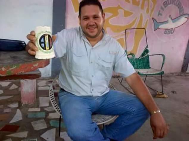 Ricardo Campos, asesinado durante protesta en Cumaná / Foto: @ReynaldoMarvez