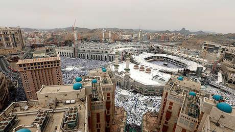 La  Meca. Foto de archivo.