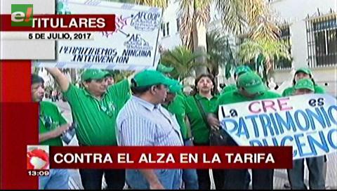 Video titulares de noticias de TV – Bolivia, mediodía del miércoles 5 de julio de 2017