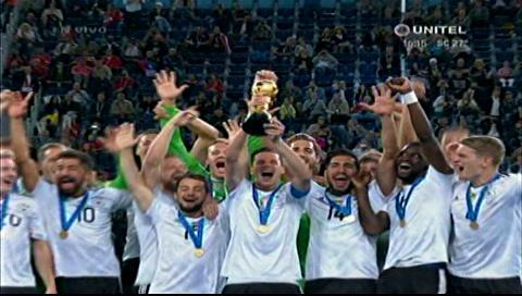 Alemania alza la Copa Confederaciones y sigue siendo la referencia Mundial