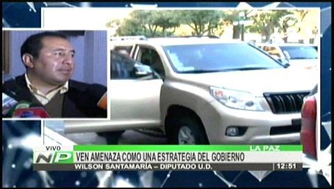 Oposición cree que amenaza a Evo Morales es una estrategia del Gobierno