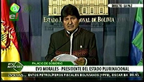 Silala. Evo rechaza versión chilena, observa violación de reserva y confirma contrademanda de Bolivia