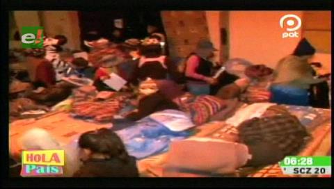 La Paz: Albergue transitorio de invierno recibió a cien niños