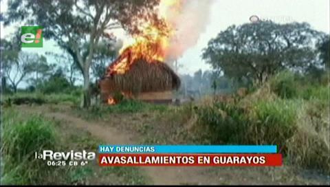 Guarayos: 10 heridos y 20 viviendas quemadas en pelea por tierras