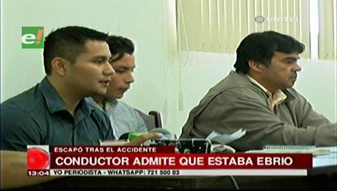 Nolivos admitió que consumió alcohol, pidió ser liberado para ayudar a las víctimas